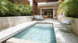 TRS Yucatan Hotel terraza