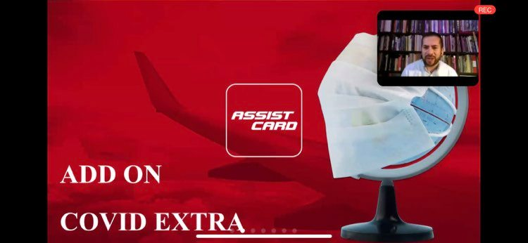 Viaja Seguro con Mega Travel y Assist Card con ADD ON Covid Extra