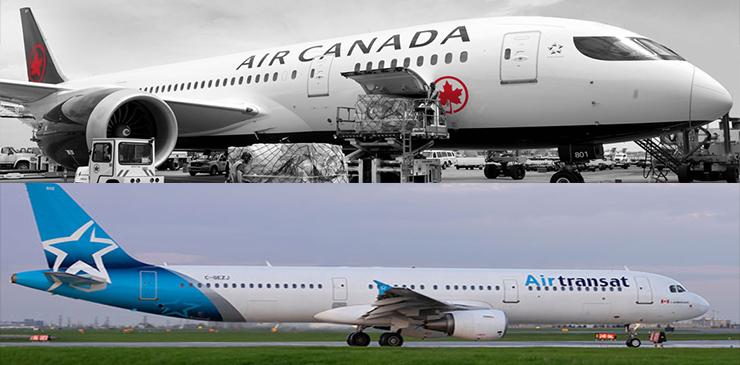 Air Canada y Transat concluyen la transacción enmendada para la fusión de las dos empresas