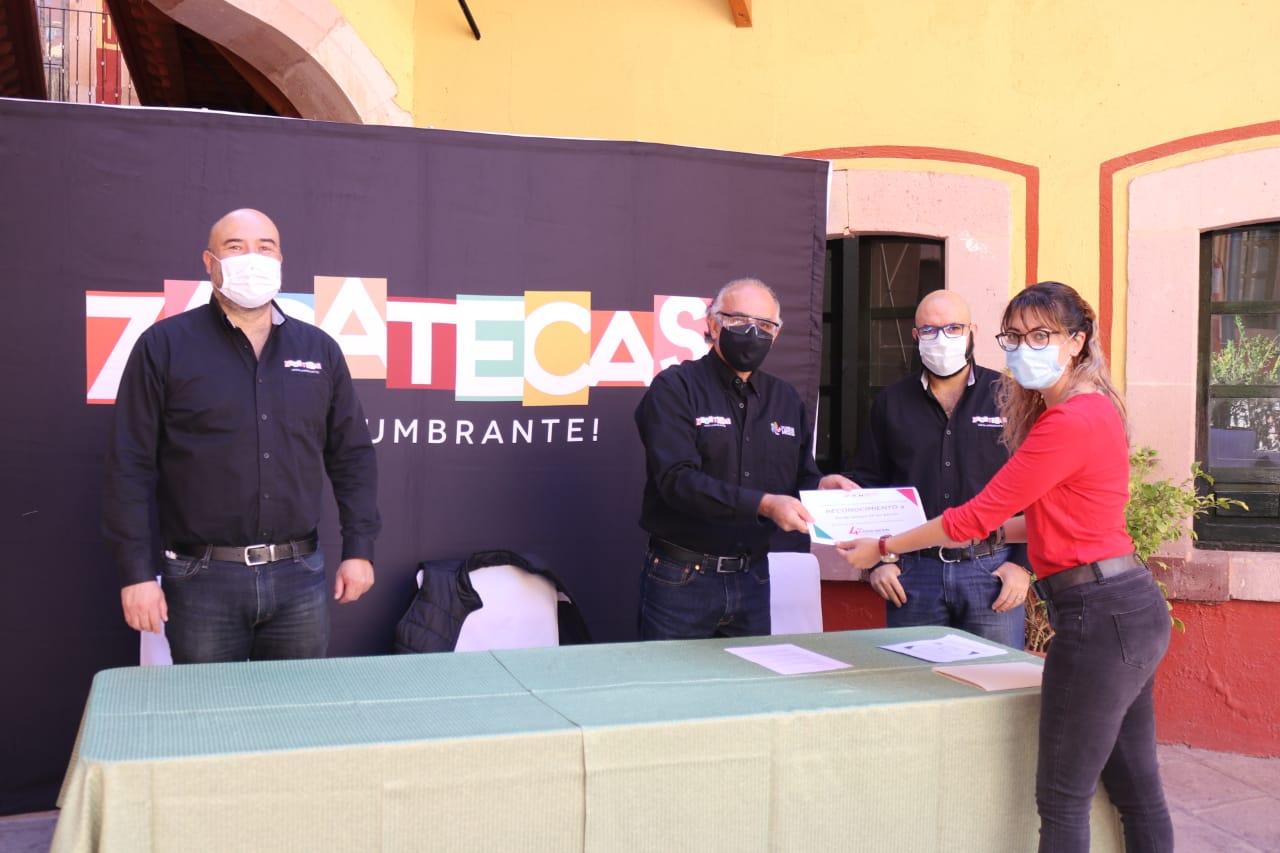 Conoce a los ganadores del Cuarto Concurso de Nuevos Productos Turísticos en Zacatecas