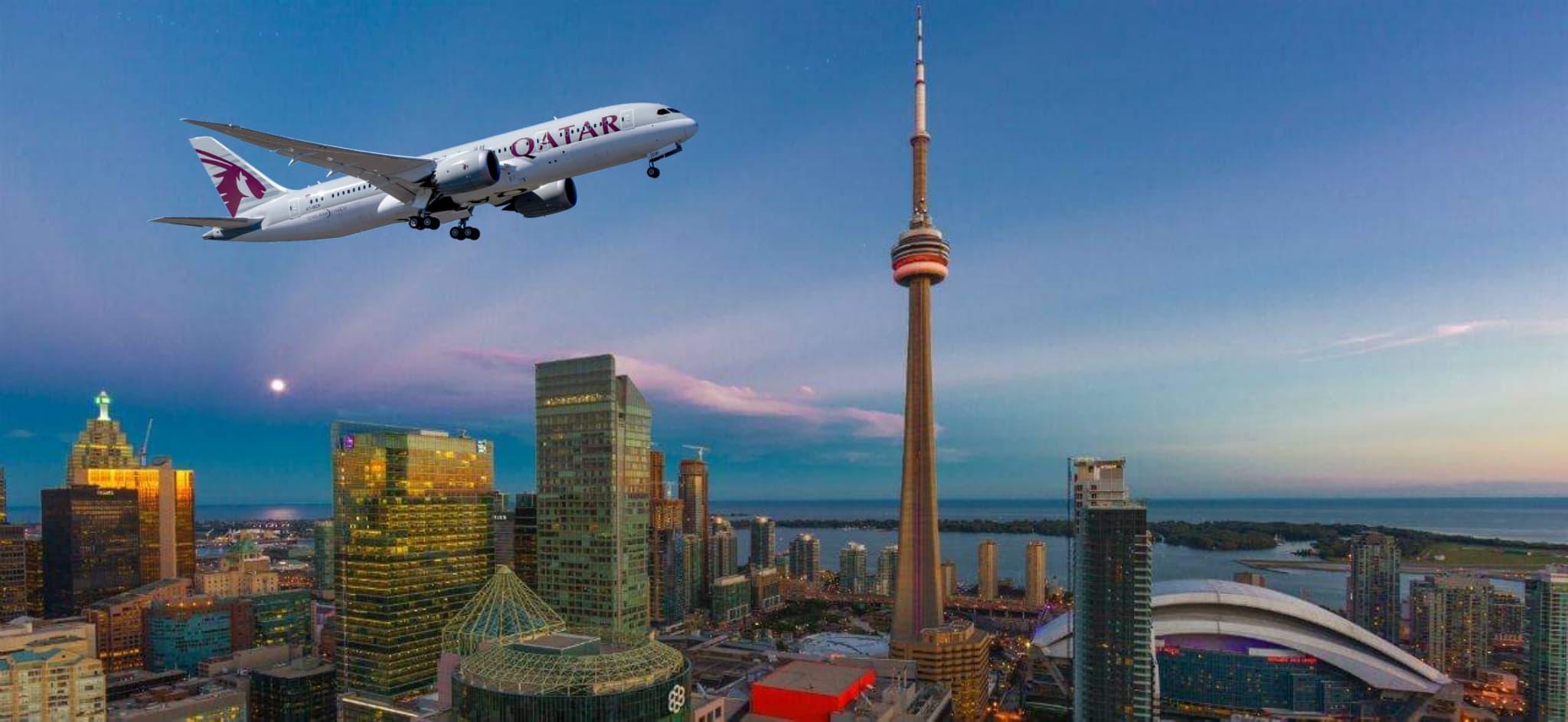 Qatar Airways ofrecerá a sus clientes conexiones sin interrupciones desde Toronto hacia Doha