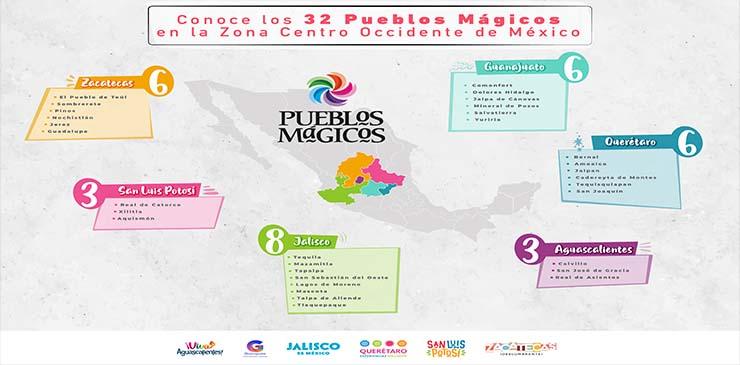 """Conoce los 32 Pueblos Mágicos que forman parte de la campaña """"Viaja en Corto"""""""