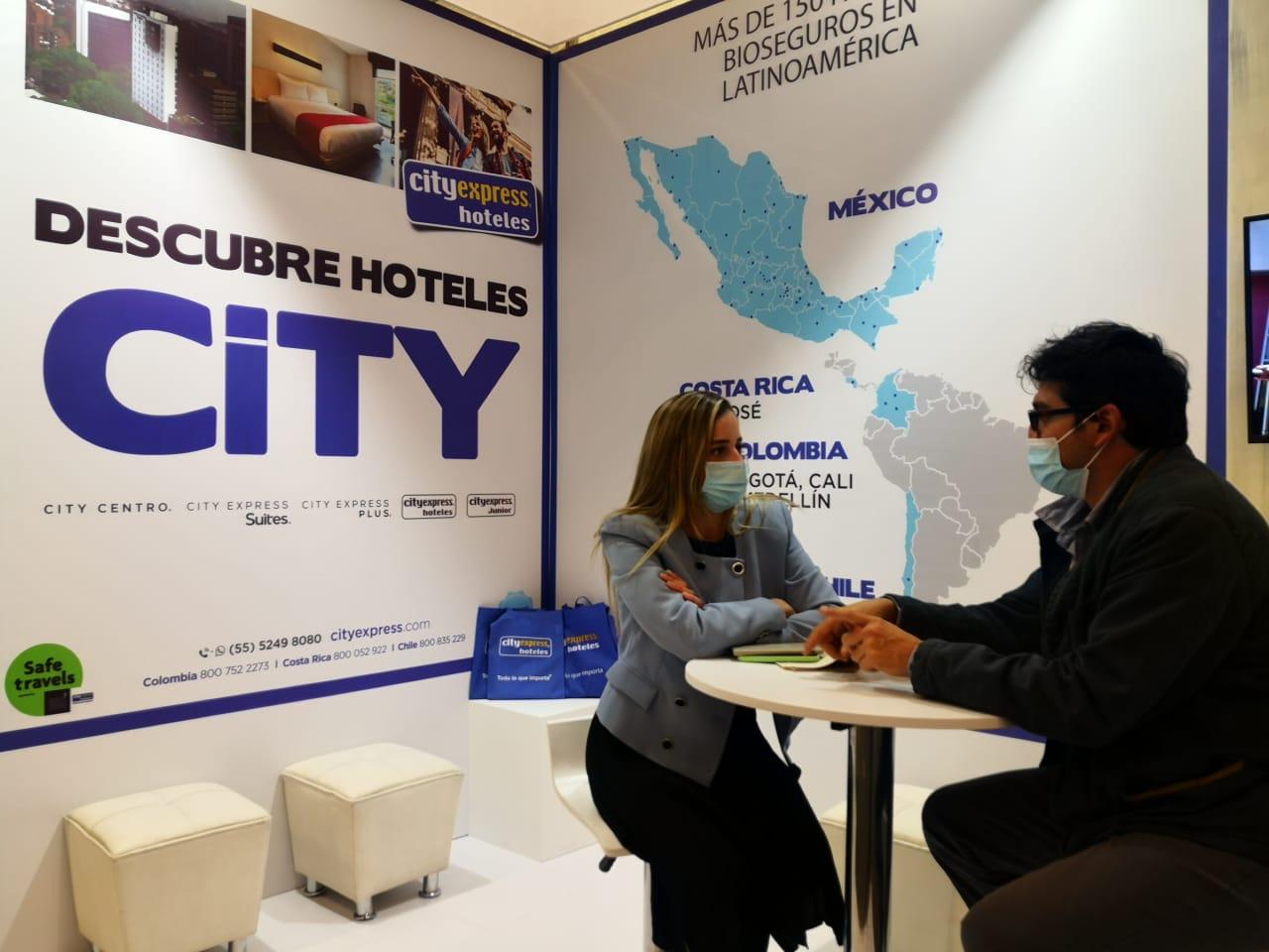 City Express presente en ANATO con sus más de 150 propiedades