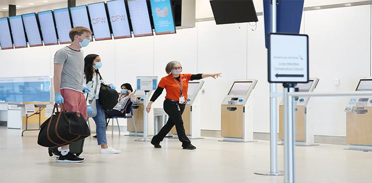 El Aeropuerto DFW enumera una seria de tips para viajar