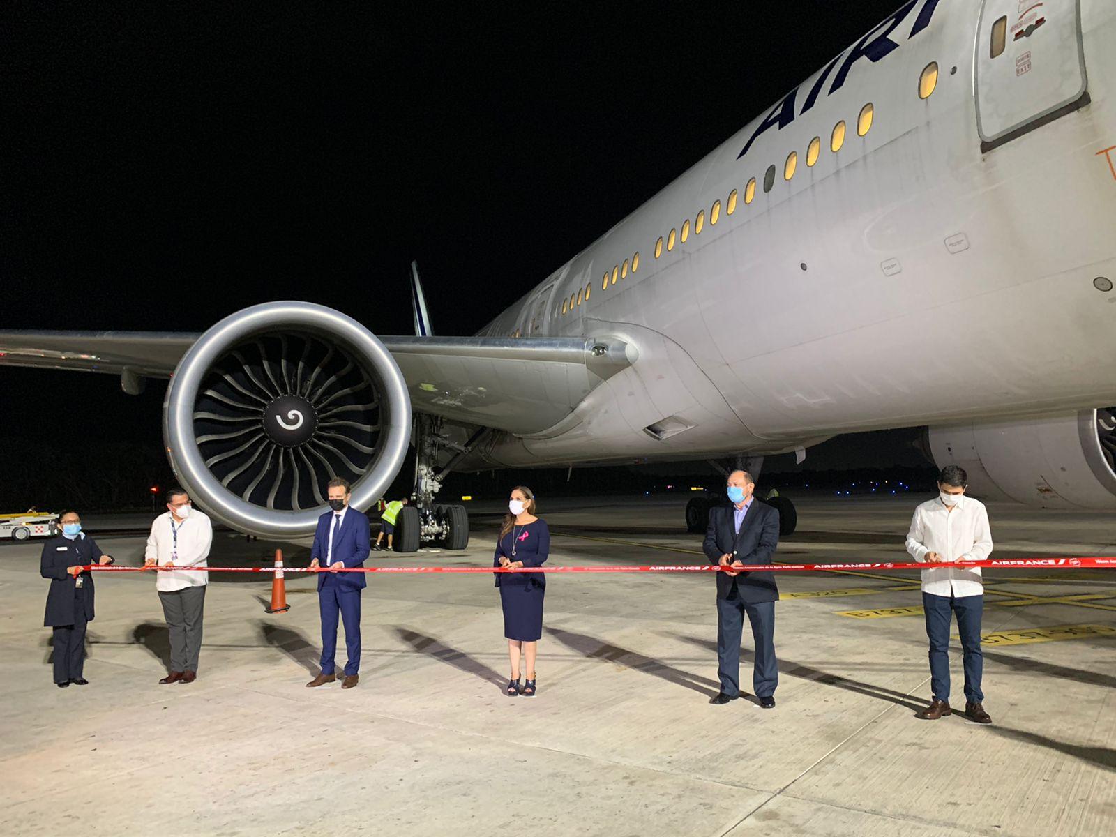 Air France celebra una década de conectar Paris con el Caribe Mexicano
