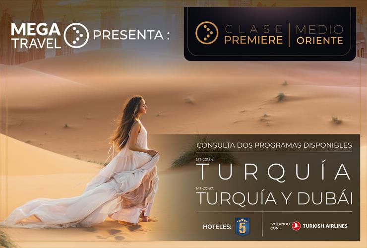 Mega Travel lanza al mercado su nueva Línea Premiere con hoteles 5 estrellas y excursiones especiales